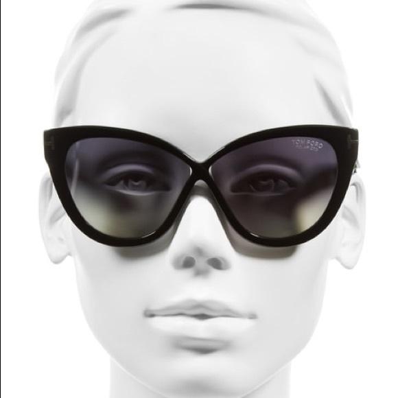 19210a7412ad TOM FORD 🖤 Arabella sunglasses in black - Rare! M 5c758787e944baf6c49f9f8d